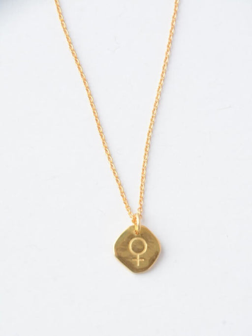 Virtuous Venus Necklace - 14k Gold