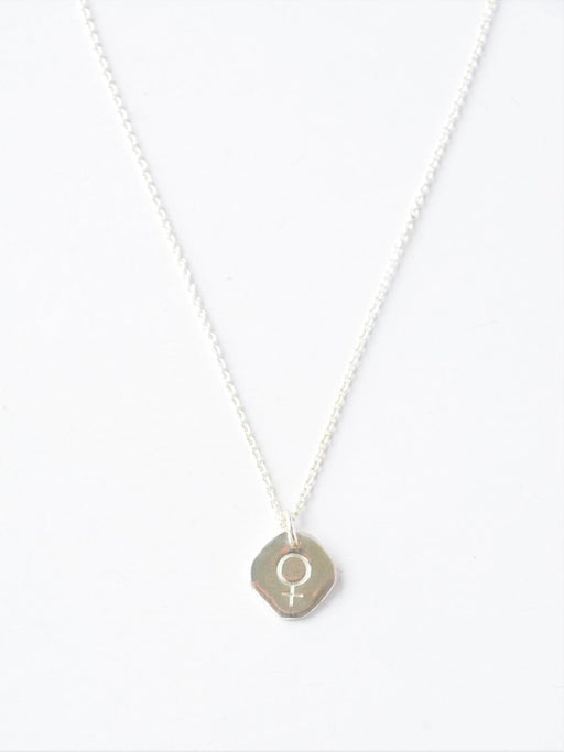 Virtuous Venus Necklace - Sterling Silver