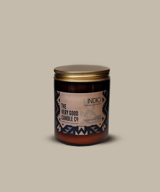 INDIO - Rapeseed Candle Mid Size 170ml 45-50 Hours