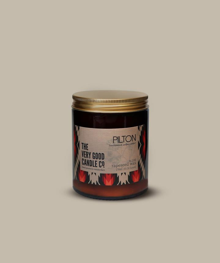 PILTON - Rapeseed Candle Mid Size 170ml 45-50 Hours