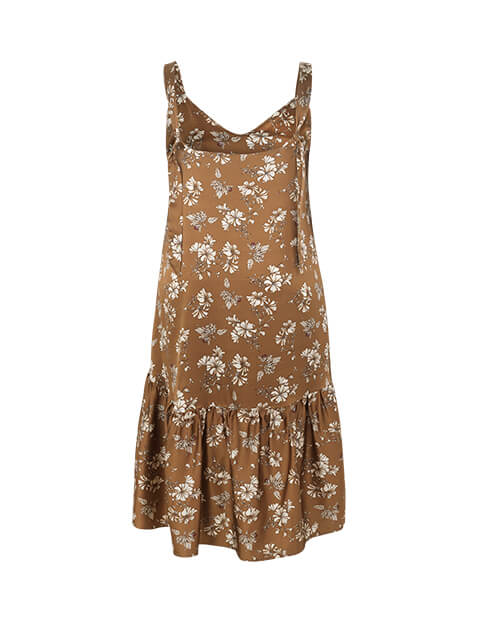 Susan Dress Brown