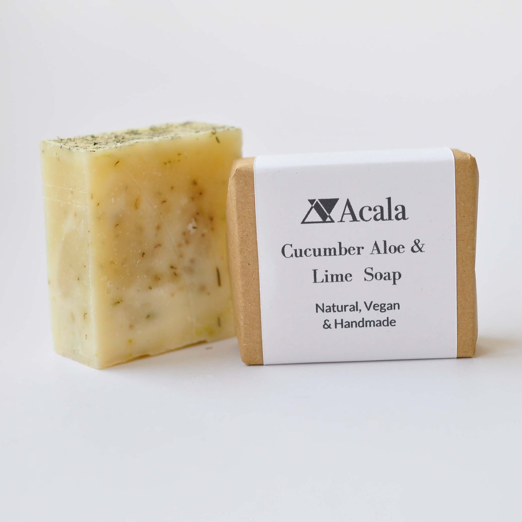 Cucumber Aloe and Lime Soap