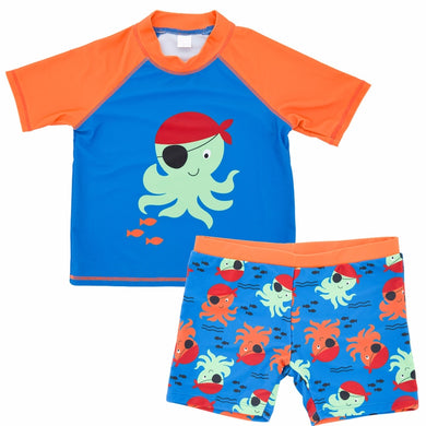 60c47db267 Mioigee Kids Swimwear Boy Boys Swimsuit New 2018 Two Piece Swimwear Boy  Summer Beach Uv Protection