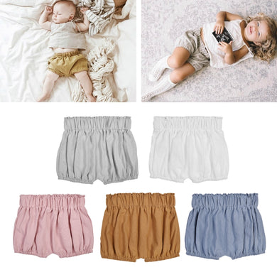 1dc5b40f6 2018 Hot Baby Boy Girls Cotton Shorts Panties Bloomers Diaper Cover Baby  Ruffle Bloomer Infant Toddler