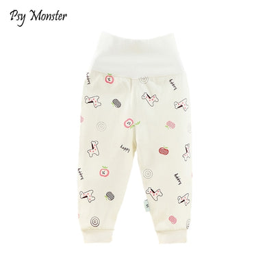 cca1d970407f1 Baby pants 100% cotton baby infant leggings baby clothing newborn tights  boys girls pants high