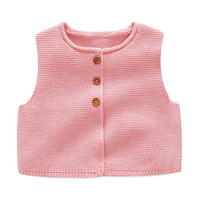 f146e9b7 ... Quality Sleeveless Sweaters. Fashion Style Kids Baby Casual Knitted Vest  Coat Baby Boys Girls Crochet Cotton Vest Children Top