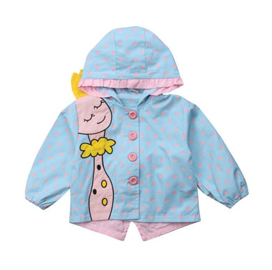 89a06d187 New baby girl coats Jackets clothing Baby Clothes Coats Cute Animals hooded  Autumn Children Outerwear Coats