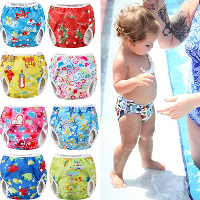 51d9746cd1 Pudcoco 2018 New Arrival Summer Swim Diaper Nappy Pants Reusable Adjustable Infant  Baby Boy Girl Toddler