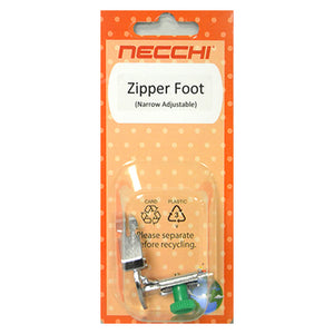 Zipper Foot(adjustable narrow base)