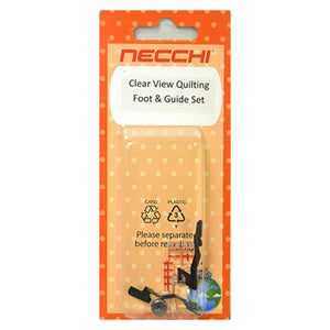 Clearview Quilting Foot and Guide Set
