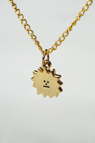 Sun Pendant Chain Necklace