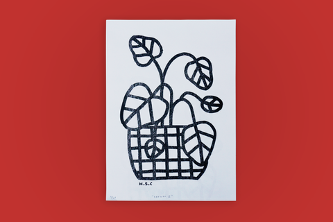 'Growth I' Risograph Print