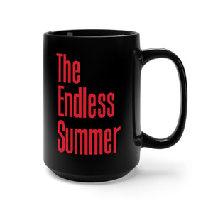 The Endless Summer Black Mug 15oz