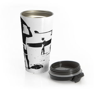TES Stainless Steel Travel Mug