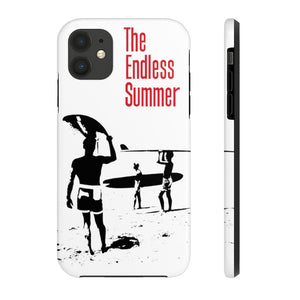 The Endless Summer Silhouette Tough Phone Cases