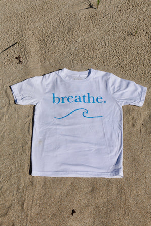 Breathe. Kids Giving Tee