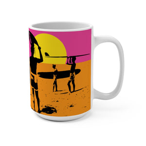 The Endless Summer Poster Mug 15oz