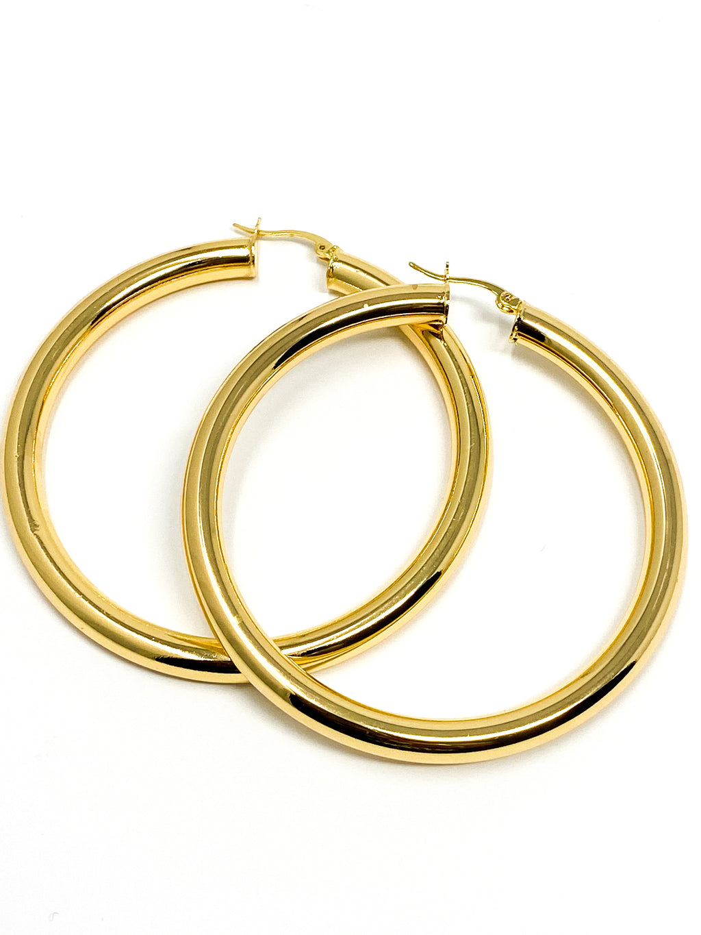 LAGOS- Large Hoop  Earrings