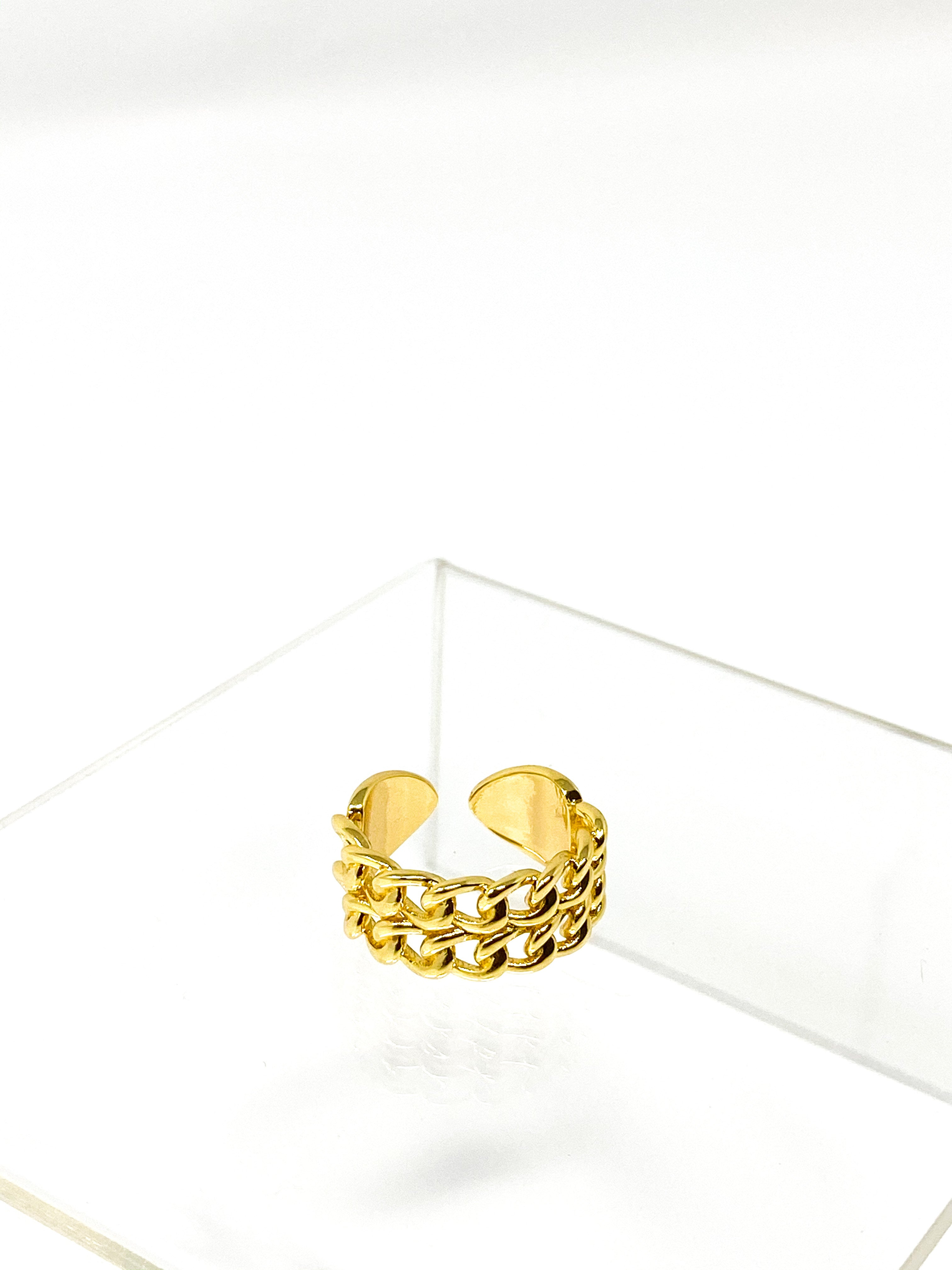 ADAH- Double Chain Link Ring