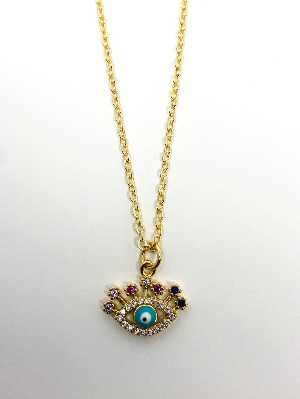 COVERED- Evil Eye Necklace
