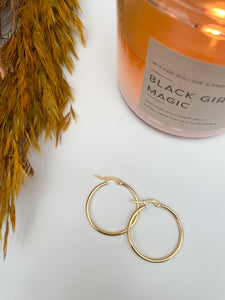 GIZA- Small Gold Hoops