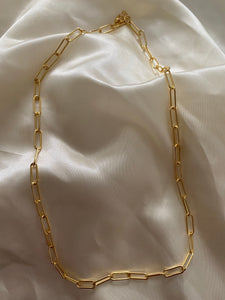 JOURNEE- Paperclip Necklace