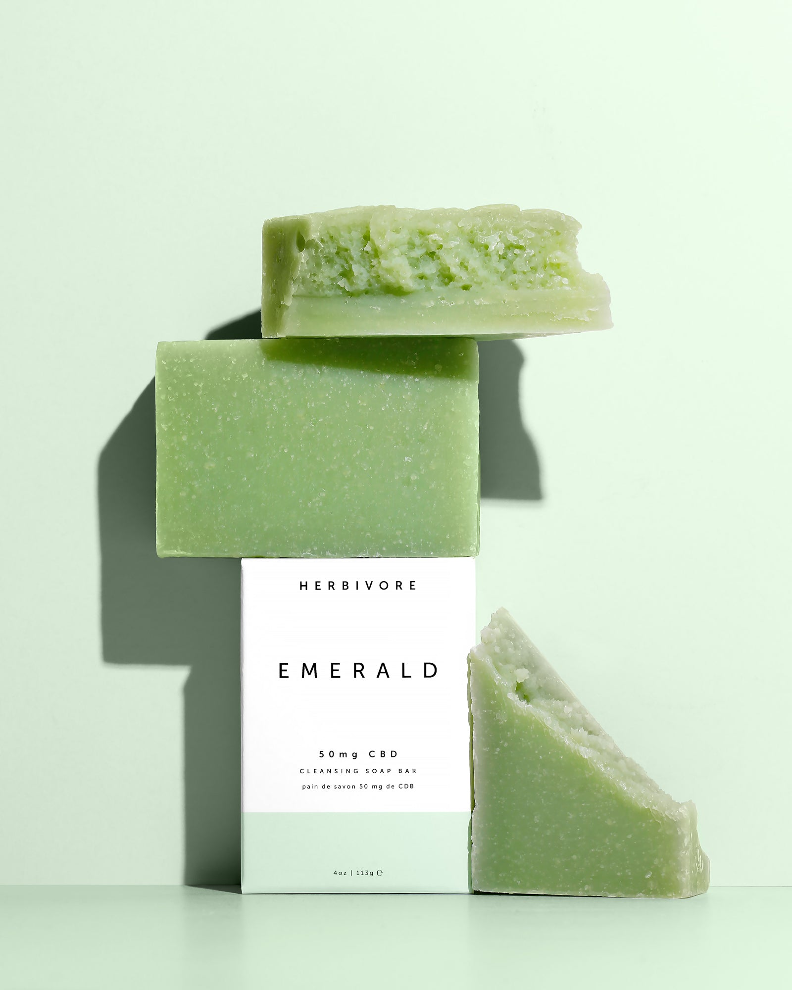 EMERALD 50mg CBD Cleansing Soap Bar