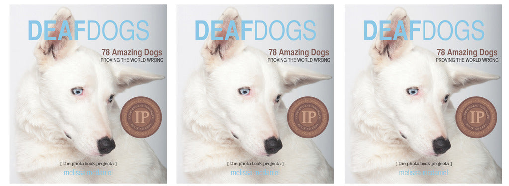 DEAF DOGS Books Set: 3 copies of Deaf Dogs photo books