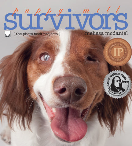 Puppy-Mill Survivors photo book