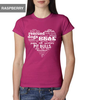 Rescue Dog Heart T-Shirt - Women's Fitted T-Shirt