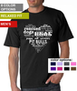 Pit Bulls Heart T-Shirt - Men's Relaxed Fit T-Shirt (8 color options available)