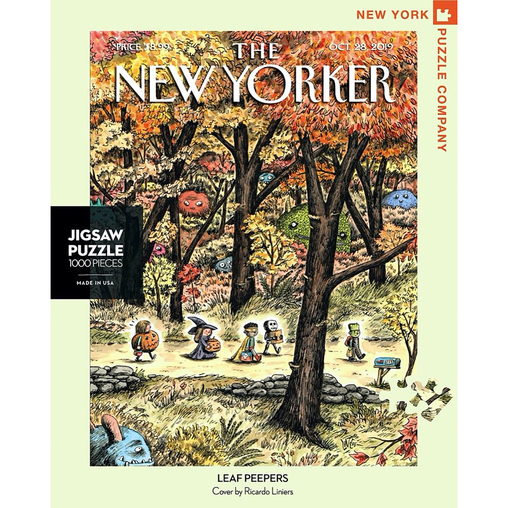 1000 Piece Leaf Peepers Jigsaw Puzzle