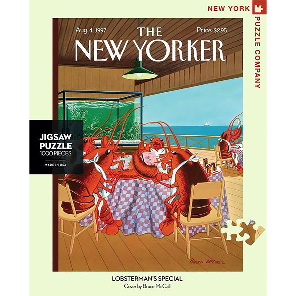 1000 Piece Lobsterman's Special Jigsaw Puzzle