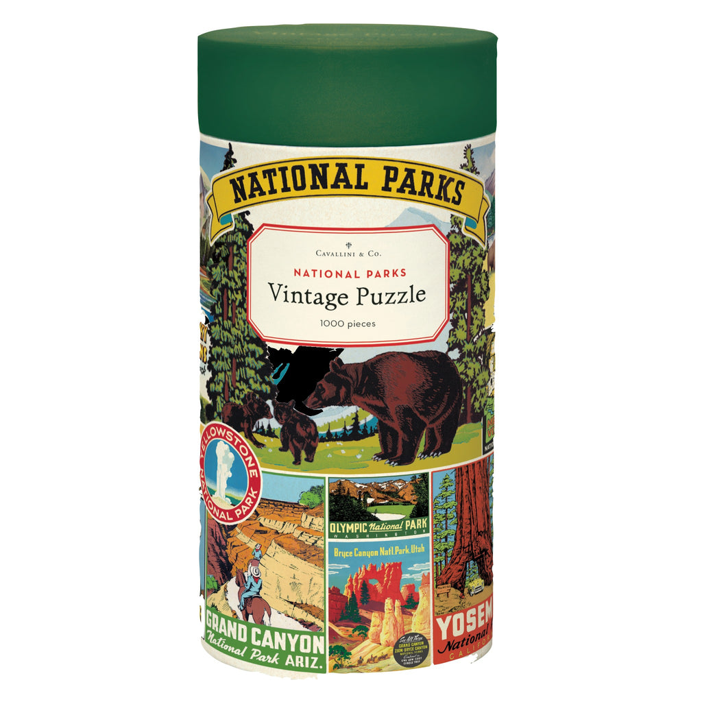 1000 piece national parks jigsaw puzzle