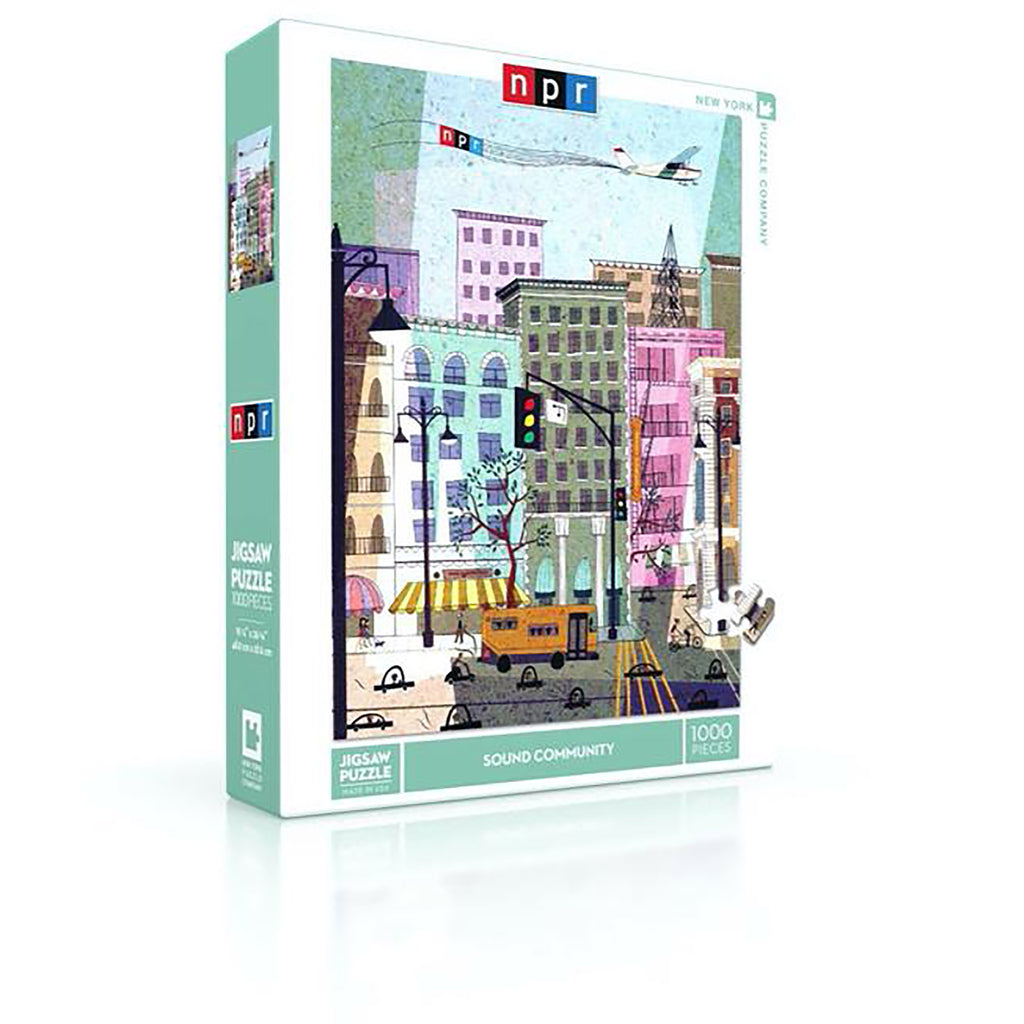 1000 Piece NPR Sound Community Jigsaw Puzzle