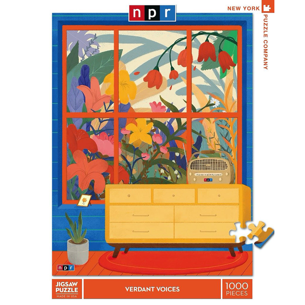 1000 Piece NPR Verdant Voices Jigsaw Puzzle