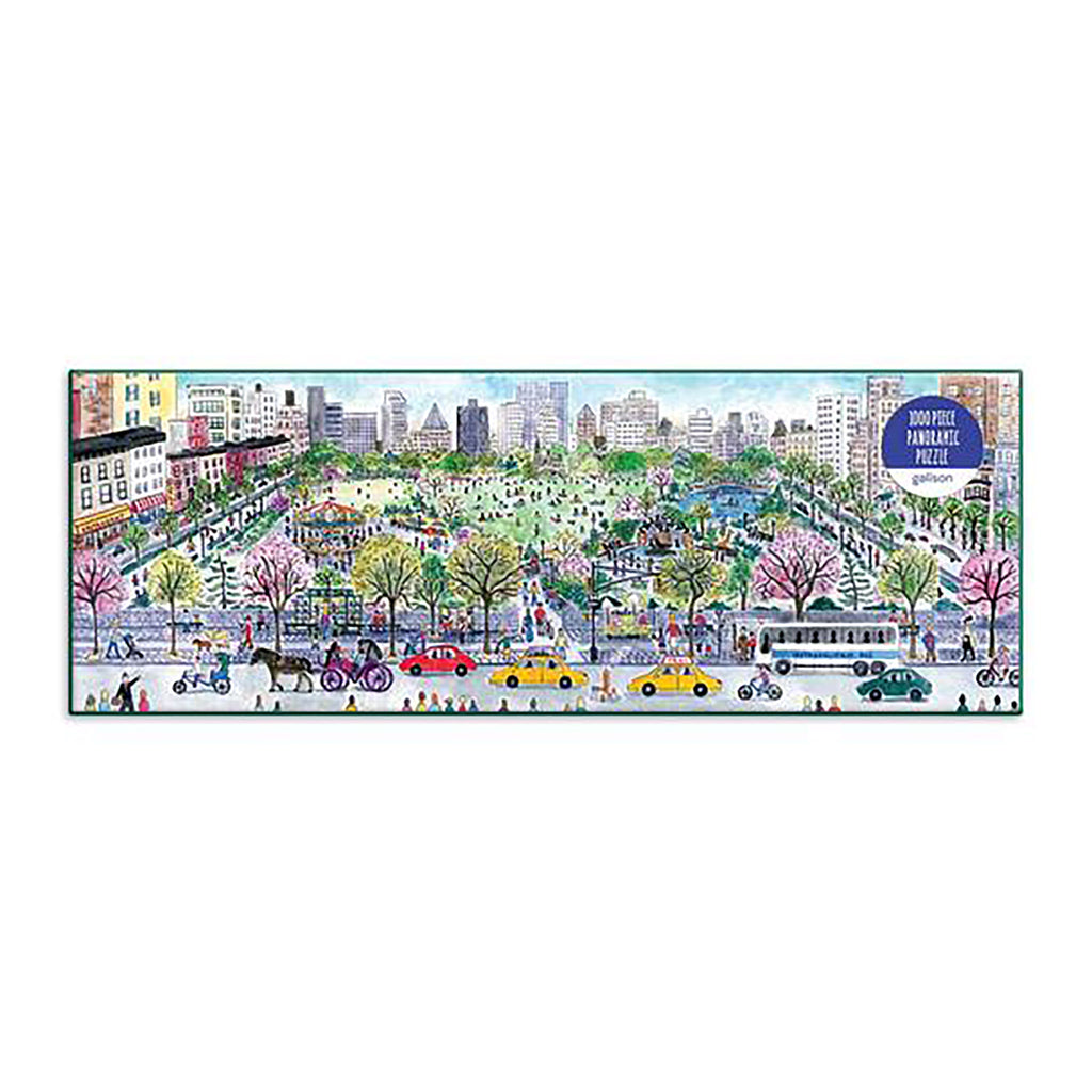 1000 Piece Michael Storrings Cityscape Panoramic Jigsaw Puzzle