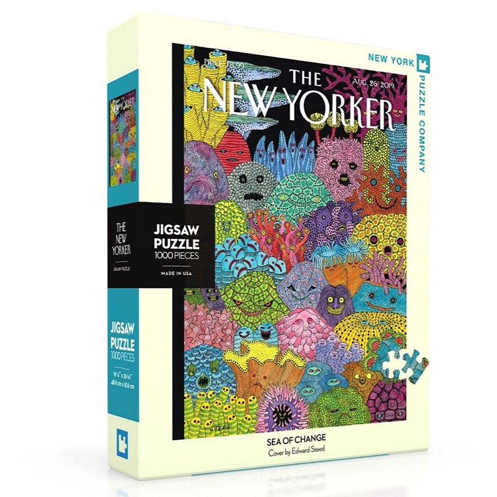 1000 Piece Sea Changes Jigsaw Puzzle box