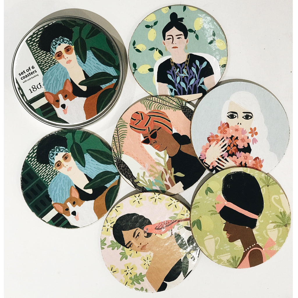 anne bentley coaster set