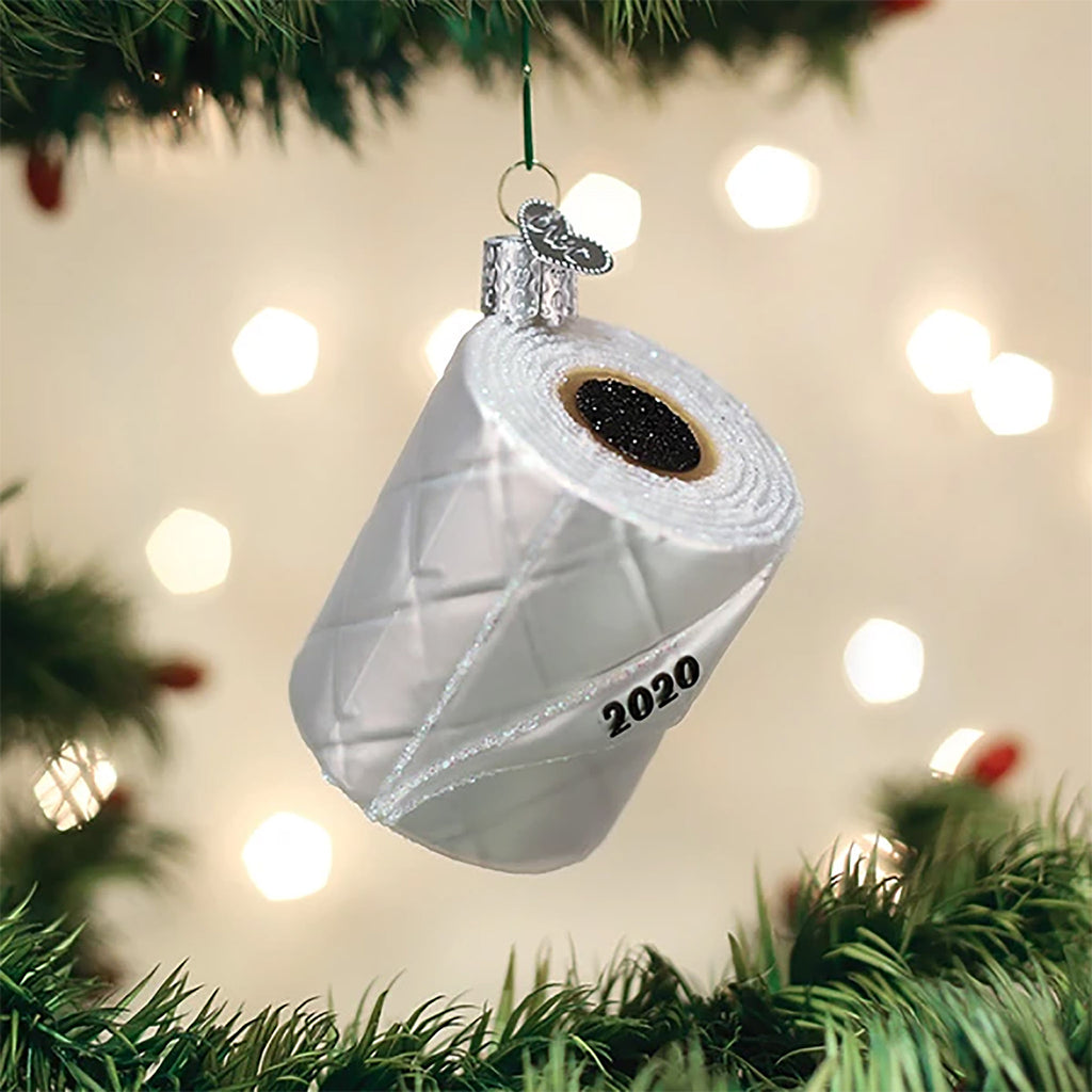 2020 toilet paper roll ornament
