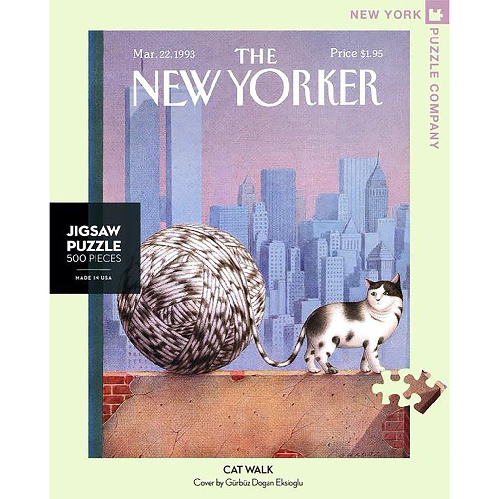 500 Piece Cat Walk Jigsaw Puzzle