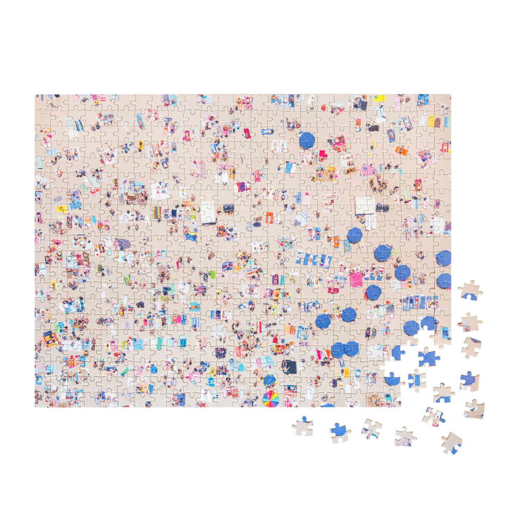 500 Piece Gray Malin Beach Double Sided Jigsaw Puzzle