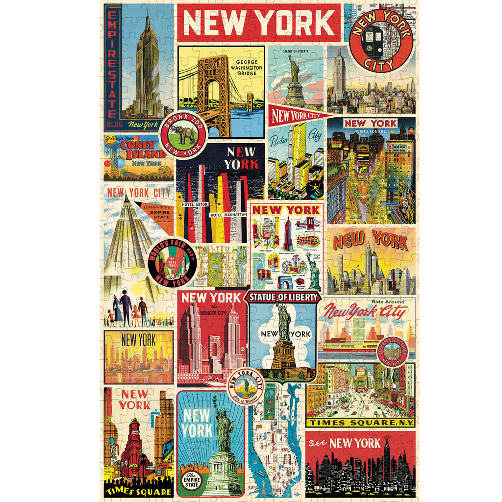 500 Piece NYC Collage Jigsaw Puzzle