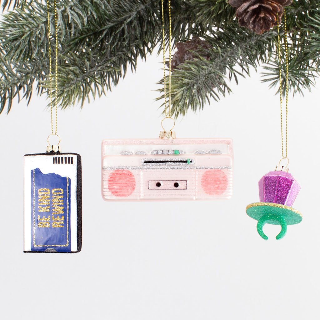 1990s Ornament Set