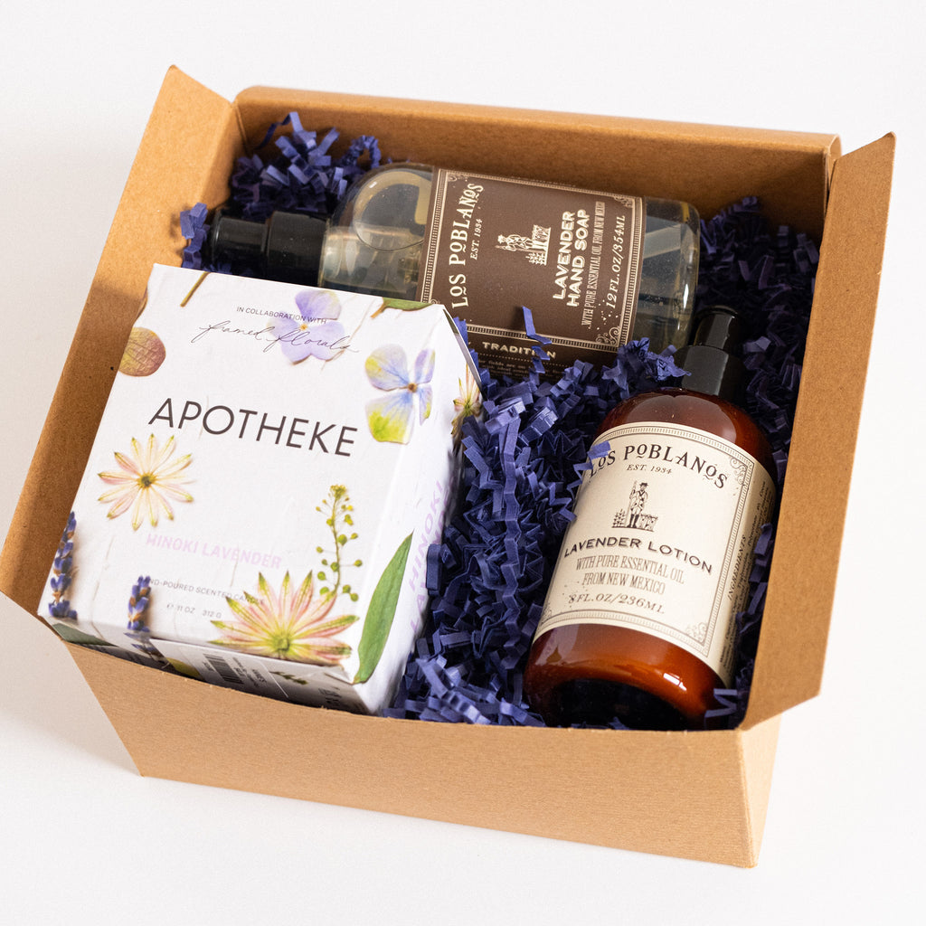 abrgs lavender love mothers day gift box set