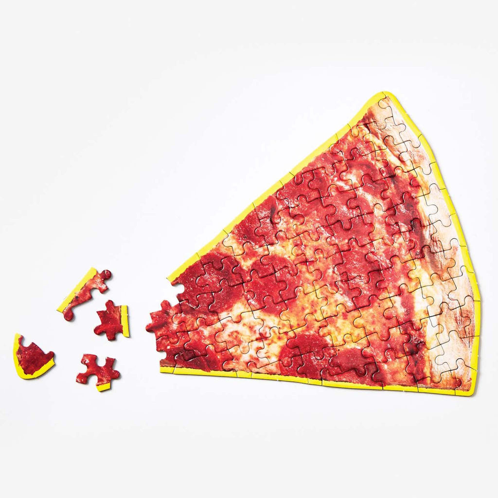 pizza slice shaped puzzle