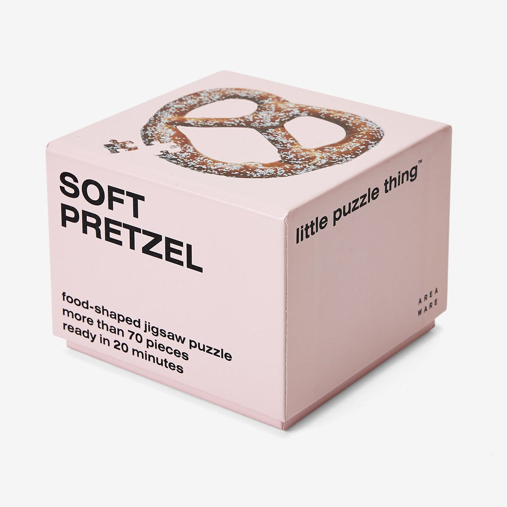 soft pretzel shaped puzzle