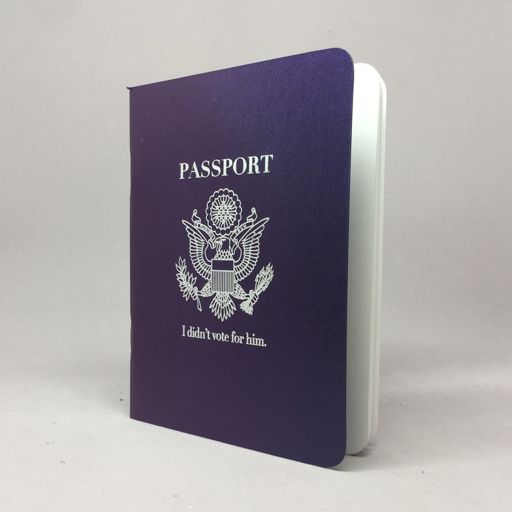 passport travel notebook