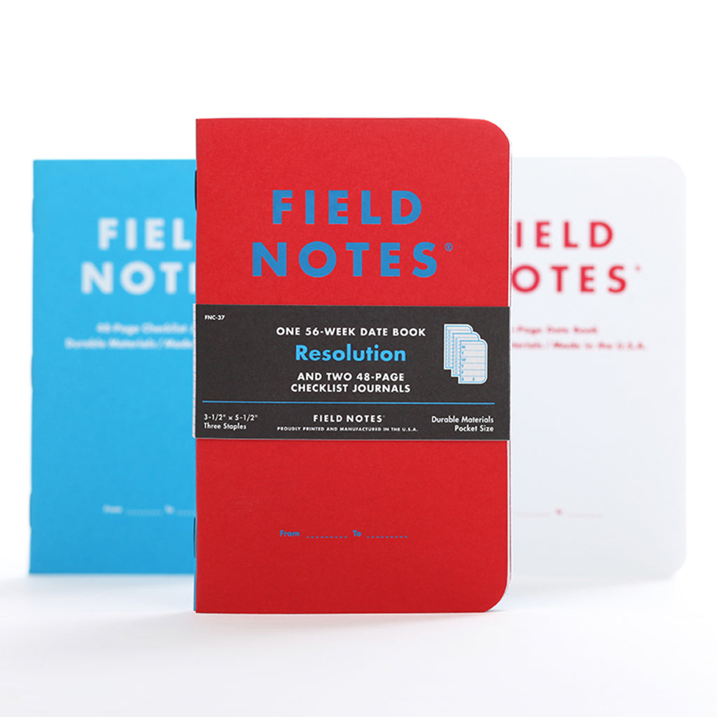 field notes limited edition resolution memo books