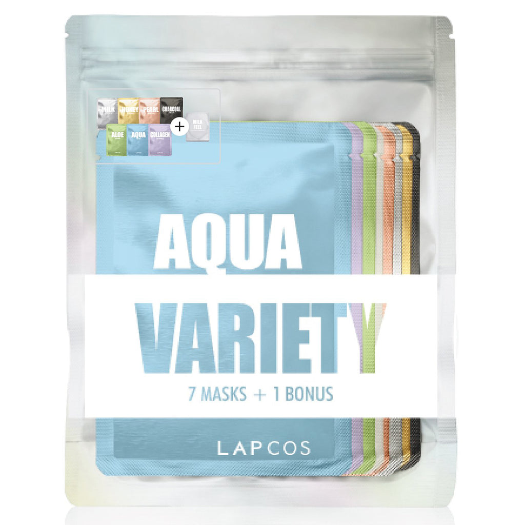 lapcos daily skin face mask variety set 1